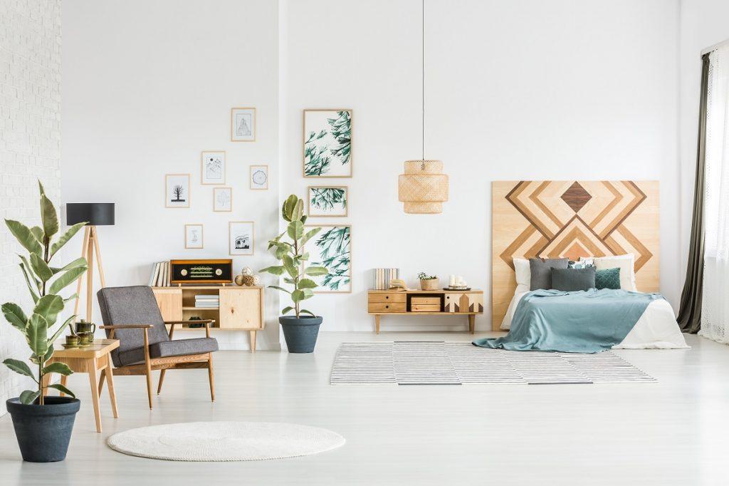 simple apartment interior